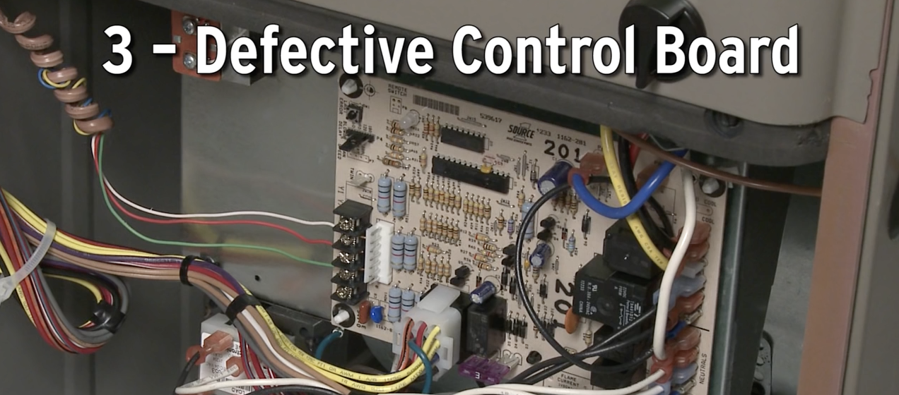 Defective Control Board